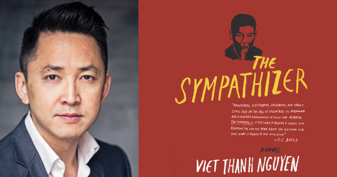 Pulitzer Prize in Fiction Viet Thanh Nguyen for novel The Sympathizer
